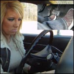 Barbie Cold Starts & Drives the Coronet in Brown Vans