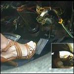 Damara Cranking & Driving Coronet in Brown Sandals, 2 of 2