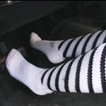 Hana Flirty Revving in Socks, 1 of 2