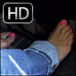 Mandie Gives You a Ride Home Barefoot – #181