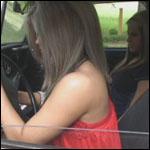 Miley & Riley Having Car Trouble