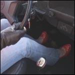 Tiffany Red Peep Toe Brake Failure – #95, 1 of 2