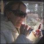 Tiffany Cruising in the Bug, 1 of 2