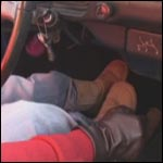 Driving in Uggs & Gloves