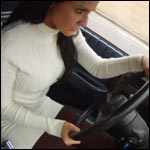 Asia Driving the Blazer, 2 of 2