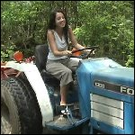 Aylalee Uses the Tractor to Get Scarlet Unstuck