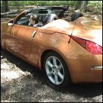 Aylalee & Scarlet Get the 350z Stuck in the Mud, 2 of 3