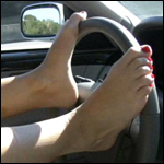 Aylalee Steering with Her Feet
