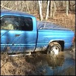 Baby Gets the Dodge Stuck in the Pond, 1 of 2