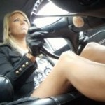 Barbie Driving the Coronet in Ankle Strap Pumps, 2 of 2