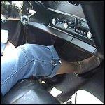 Breathless Driving in Black Stiletto Pumps