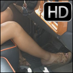 Bree Driving Truck in Wedge Heels, 1 of 2