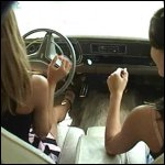 Lexi & Penelope Driving the Valiant