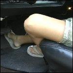 Penelope Cranking the Torino in Flip Flops
