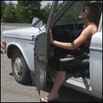 Princess Broke the Volvo