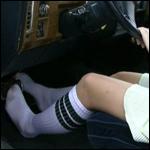 Princess Revving Caddy in Socks
