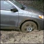 Scarlet & Veronica Get the Rental Stuck in the Mud, 1 of 2