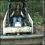Scarlet Gets the Bobcat to Pull Aylalee Out