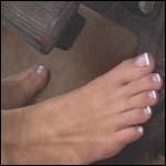 Tinsley Driving 1961 Cadillac Barefoot