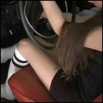 Bella & Sophia Cranking Volvo in Socks, 2 of 2