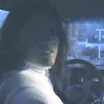 Veronica Night Driving the Blazer Barefoot