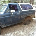Veronica Gets Stuck & Stalled in the Bronco, 1 of 2