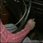 Jeanell Tries Getting the Volvo to Stay Running
