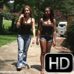 Kimberly Heart & Layna Crank the Coronet in Flip Flops