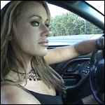 Kookie Driving the Camaro in Little Black Dress
