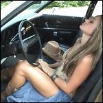 Kookie Cranking & Revving in Slit Jeans & Cowgirl Boots