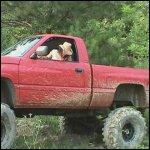 Kookie Gets the Big Dodge Stuck & Stalls It, 2 of 2