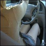 Lee Driving & Jamming in her Mustang