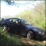 Lee Gets Her Mustang Stuck in Mud for the First Time