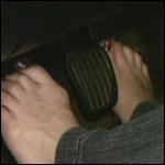 Lyndsey Cranking the Volvo Barefoot – #72