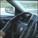 Lyndsey Driving in Traffic