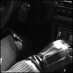 Marilyn Driving her Honda Prelude in Boots & Gloves, 1 of 3