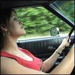 Nikki Driving Barefoot & Pregnant