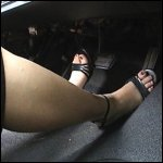 Nikki Driving in Strappy Open Toe Sandals