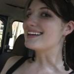 Paige Erin Turner Revving the Bug in Peep Toe Booties