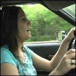 Salem Driving Torino in Flip Flops & Anklet