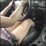 Mustang Sally Driving in Mesh Boots