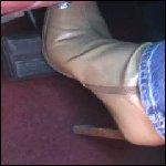 Scarlet Brake Pumping in Boots