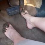 Jeanell Muddy Feet Cranking