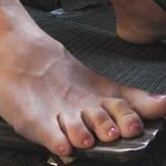 SugarSweet Revving VW Bus Barefoot