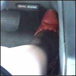 Scarlet Driving in Pumps – #004