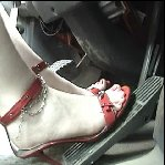 Scarlet Revs & Pumps the Air Brakes