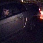 Scarlet Stuck at Night in her Mustang, 2 of 2