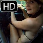 Paige Erin Turner Revving the Camaro SS in a Bikini, 2 of 2