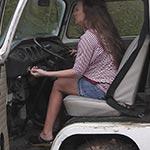 Tiffany Cranking VW Bus – #238