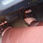 Rockell Starbux Cranks & Revs in Leather & Open Toe Heels